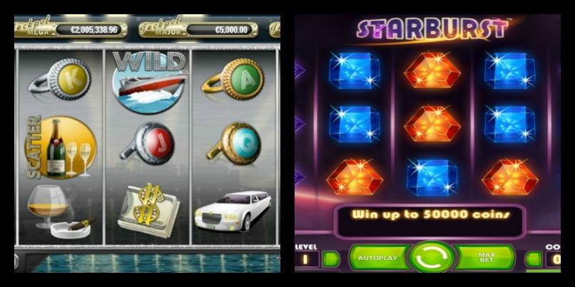Topp 5-fordeler: Mega Fortune og Starburst